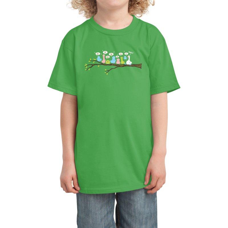 Do-Re-Mi-Quack! Kids T-Shirt by Threadless Artist Shop