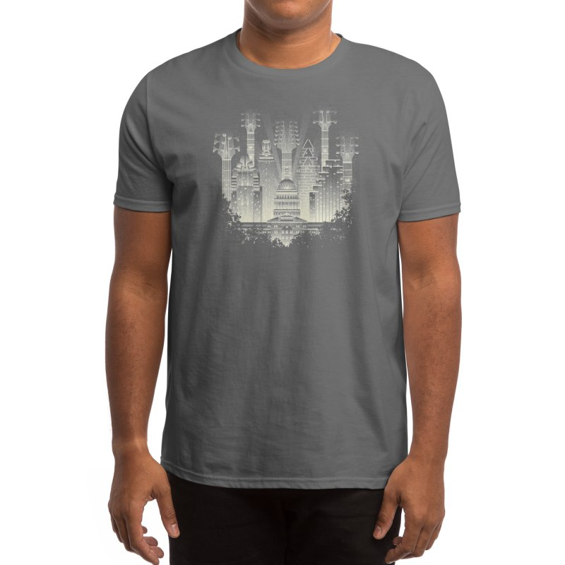 Live Music Capital Men's T-Shirt by Threadless Artist Shop
