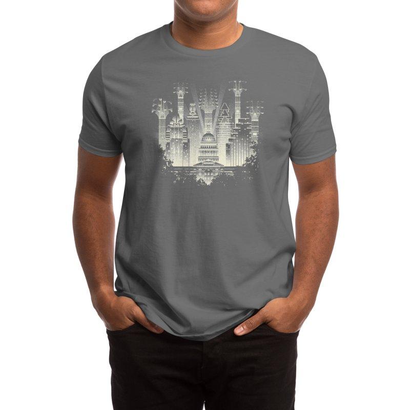 Live Music Capital Men's T-Shirt by Threadless Artist Shop