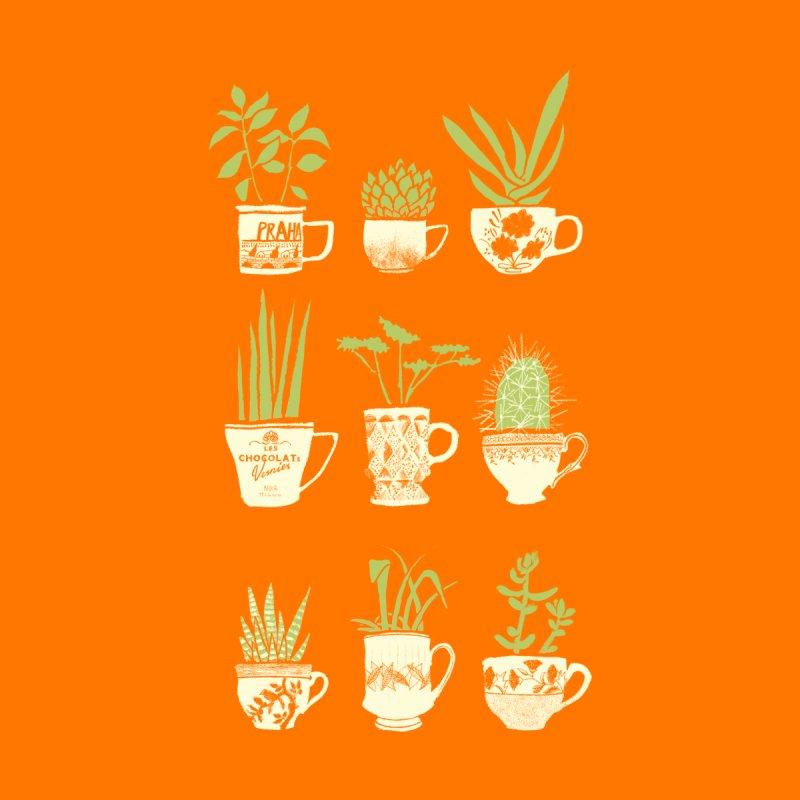 Teacup Succulents Accessories Mug by Threadless Artist Shop