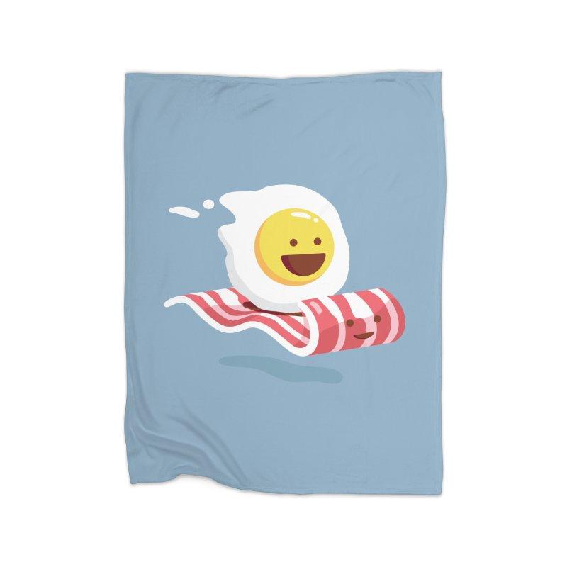 Magic Bacon Ride Home Blanket by Threadless Artist Shop