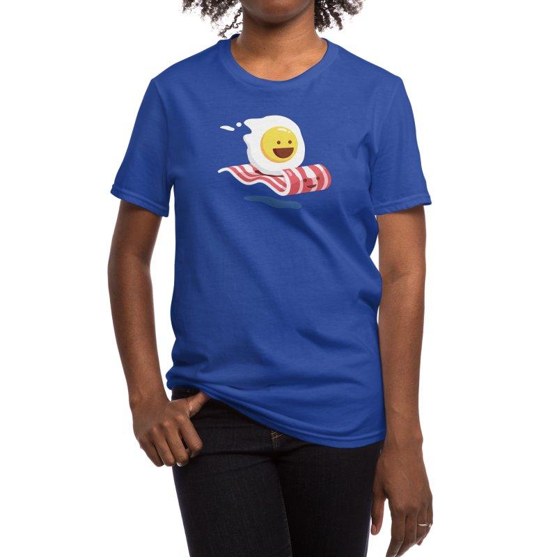 Magic Bacon Ride Women's T-Shirt by Threadless Artist Shop