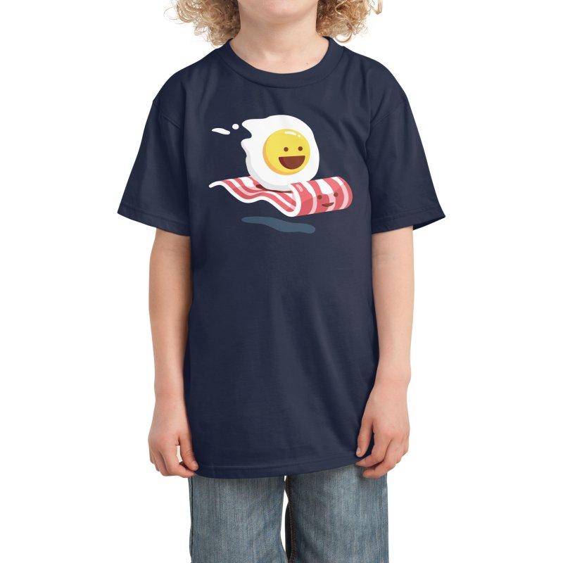 Magic Bacon Ride Kids T-Shirt by Threadless Artist Shop