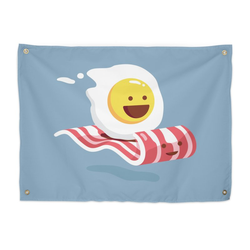 Magic Bacon Ride Home Tapestry by Threadless Artist Shop