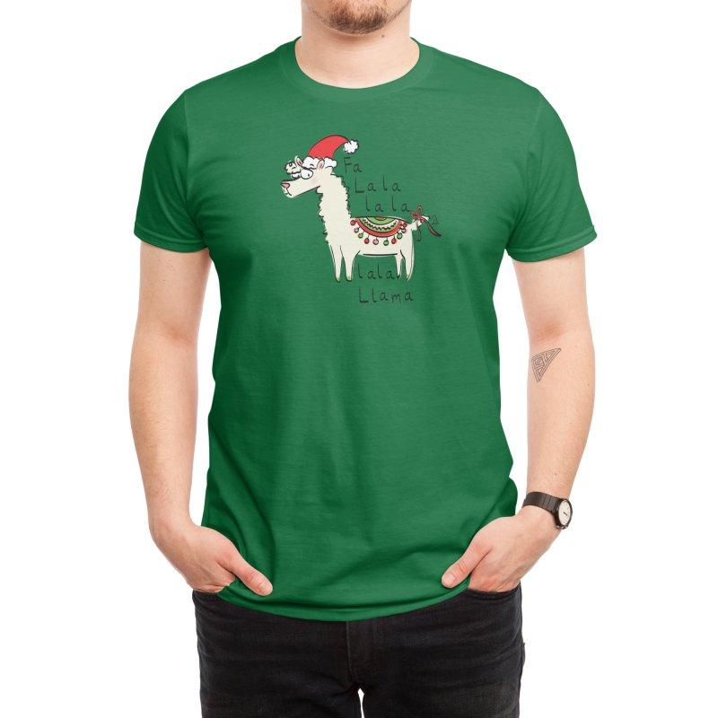 Fa La La La La La Llama Men's T-Shirt by Threadless Artist Shop