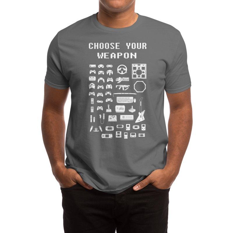 Choose Your Weapon: Gamers Men's T-Shirt by Threadless Artist Shop