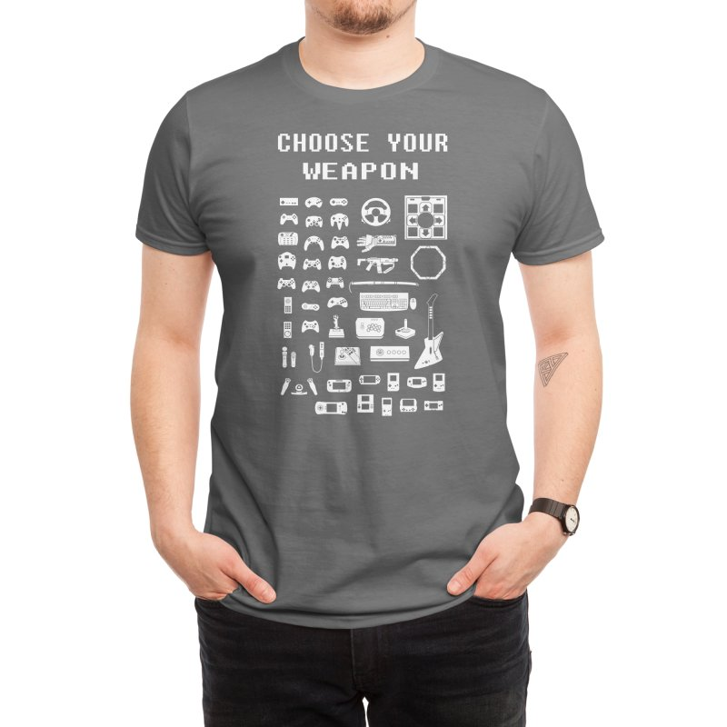 Choose Your Weapon: Gamers Men's T-Shirt by Threadless Artist Shop