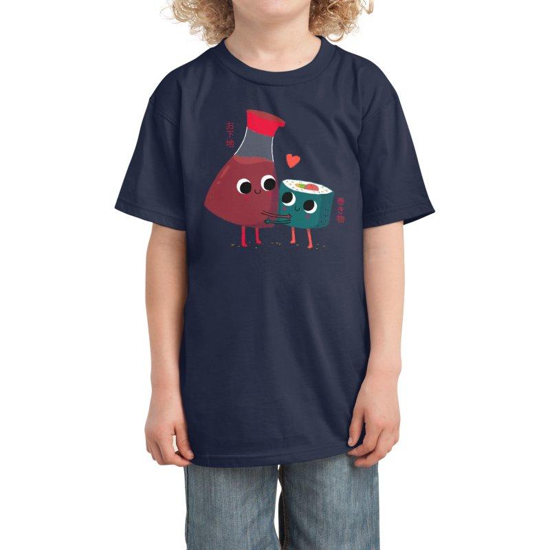 Soy Happy Kids T-Shirt by Threadless Artist Shop
