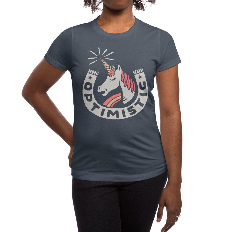 Optimist Women's T-Shirt by Threadless Artist Shop