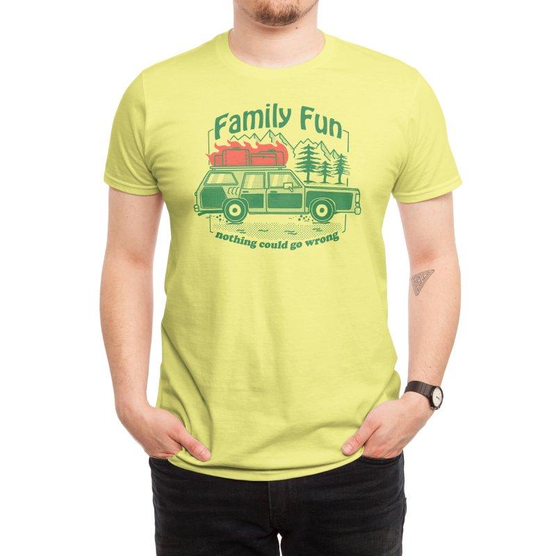 Family Fun Men's T-Shirt by Threadless Artist Shop