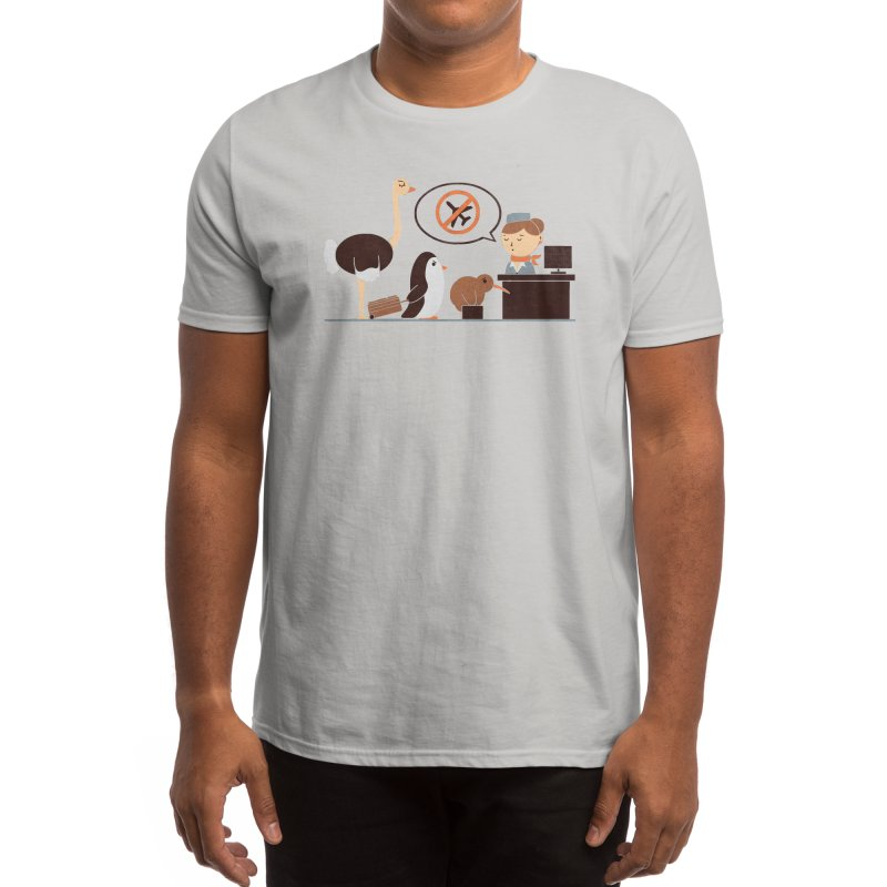 The No-Fly List Men's T-Shirt by Threadless Artist Shop
