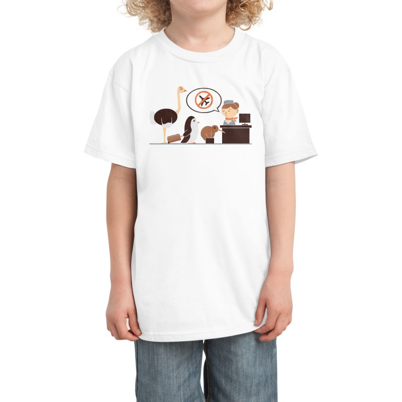 The No-Fly List Kids T-Shirt by Threadless Artist Shop