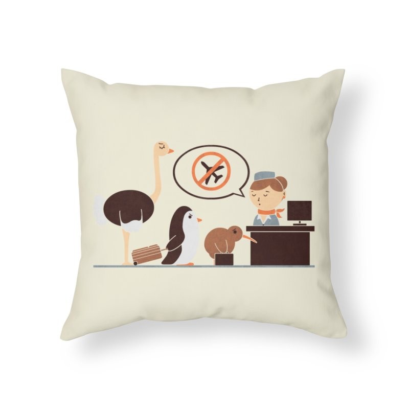 The No-Fly List Home Throw Pillow by Threadless Artist Shop