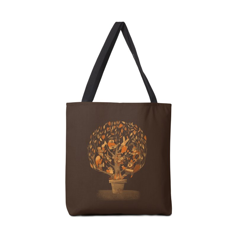 Tree Party Accessories Bag by Threadless Artist Shop
