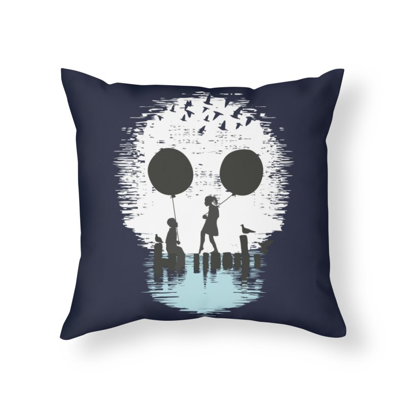 Bye Bye Apocalypse Home Throw Pillow by Threadless Artist Shop