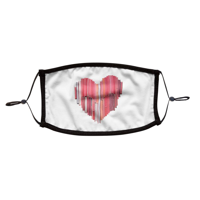 51 Love Stories Accessories Face Mask by Threadless Artist Shop