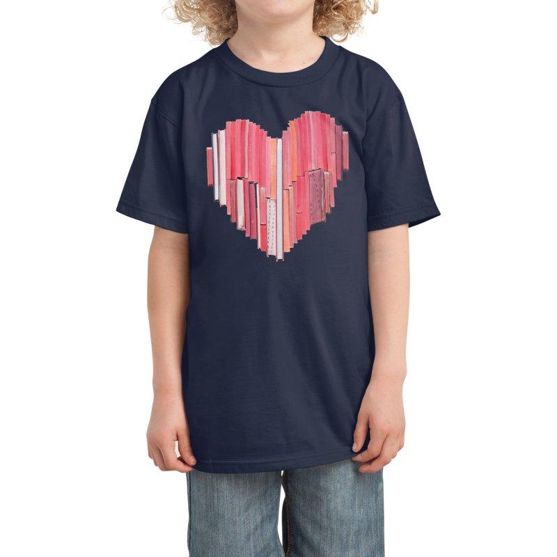 51 Love Stories Kids T-Shirt by Threadless Artist Shop