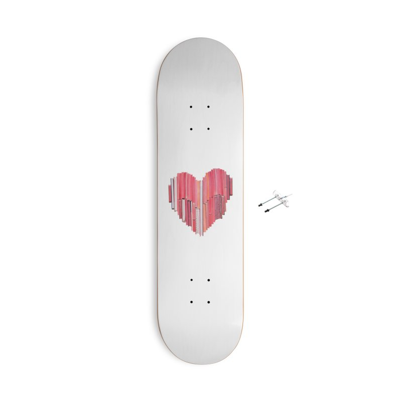 51 Love Stories Accessories Skateboard by Threadless Artist Shop