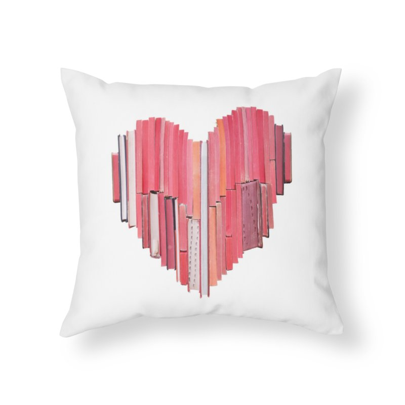 51 Love Stories Home Throw Pillow by Threadless Artist Shop
