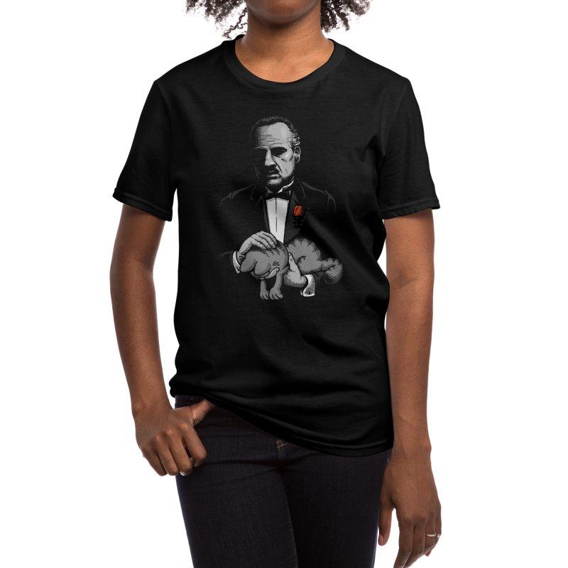 Boss' Cat Women's T-Shirt by Threadless Artist Shop