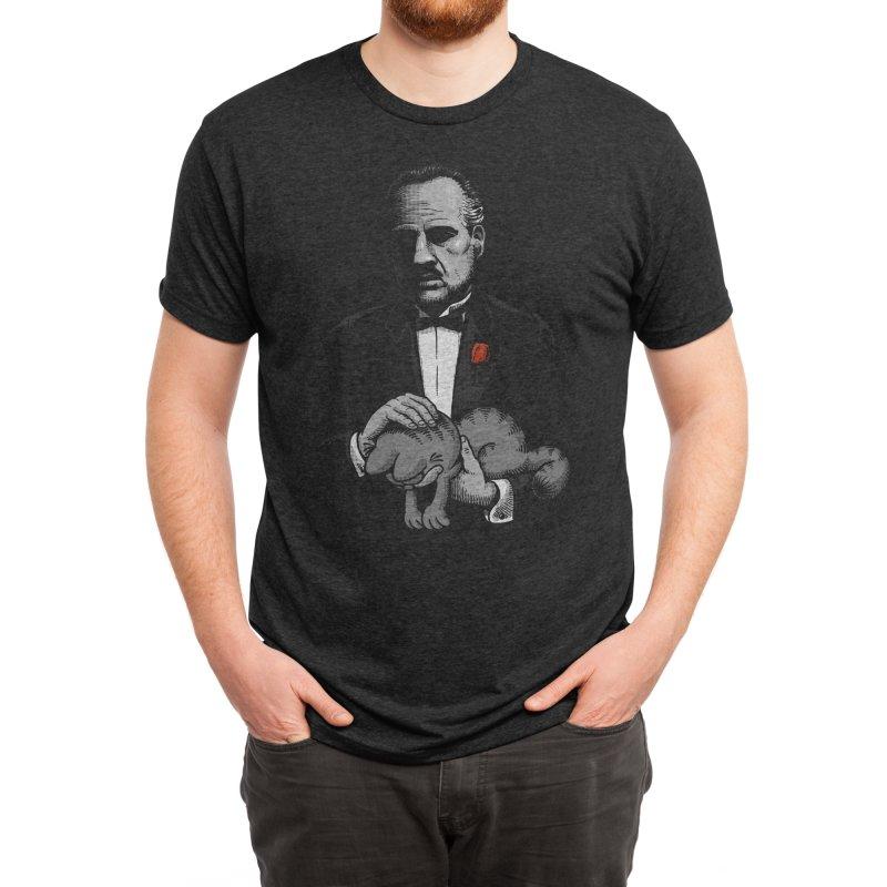 Boss' Cat Men's T-Shirt by Threadless Artist Shop