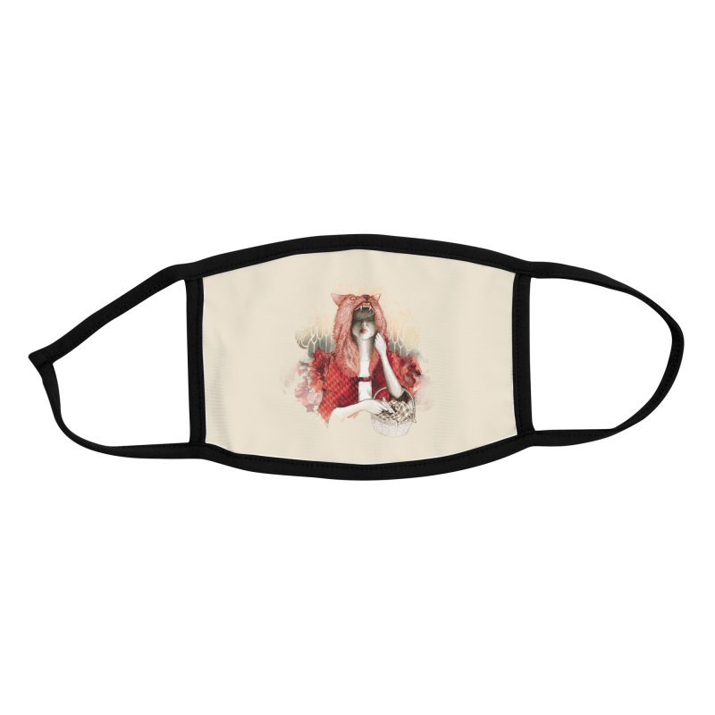 RED Accessories Face Mask by Threadless Artist Shop