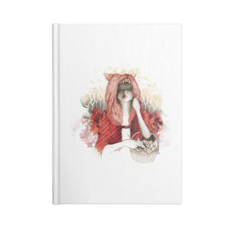 RED Accessories Notebook by Threadless Artist Shop