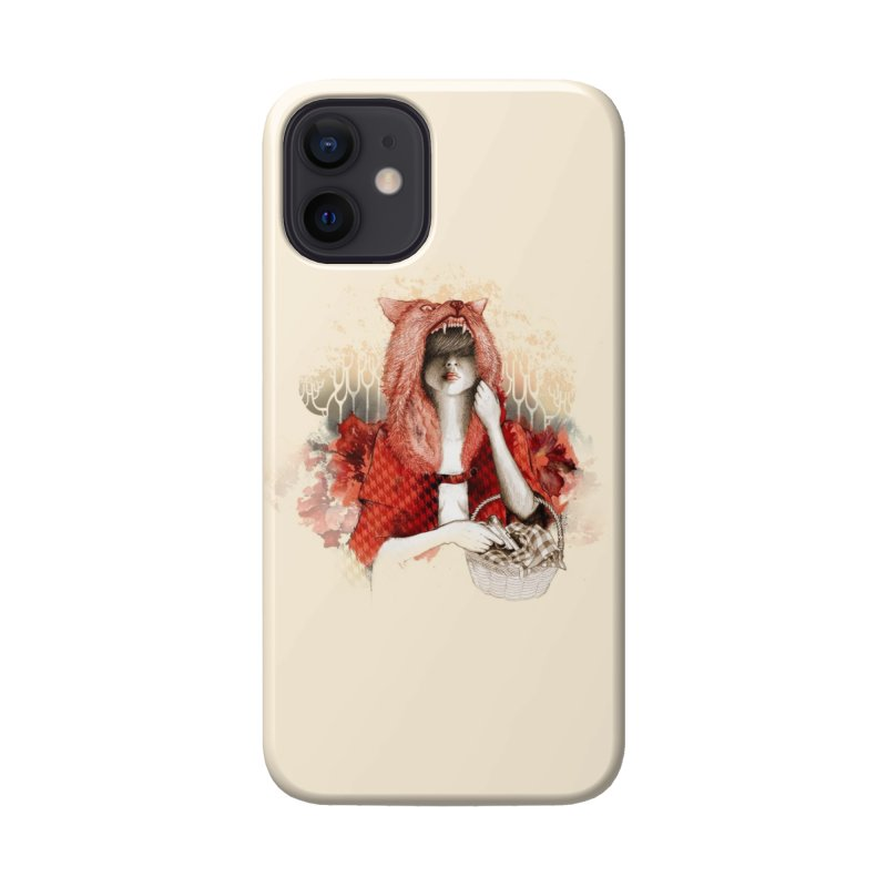 RED Accessories Phone Case by Threadless Artist Shop