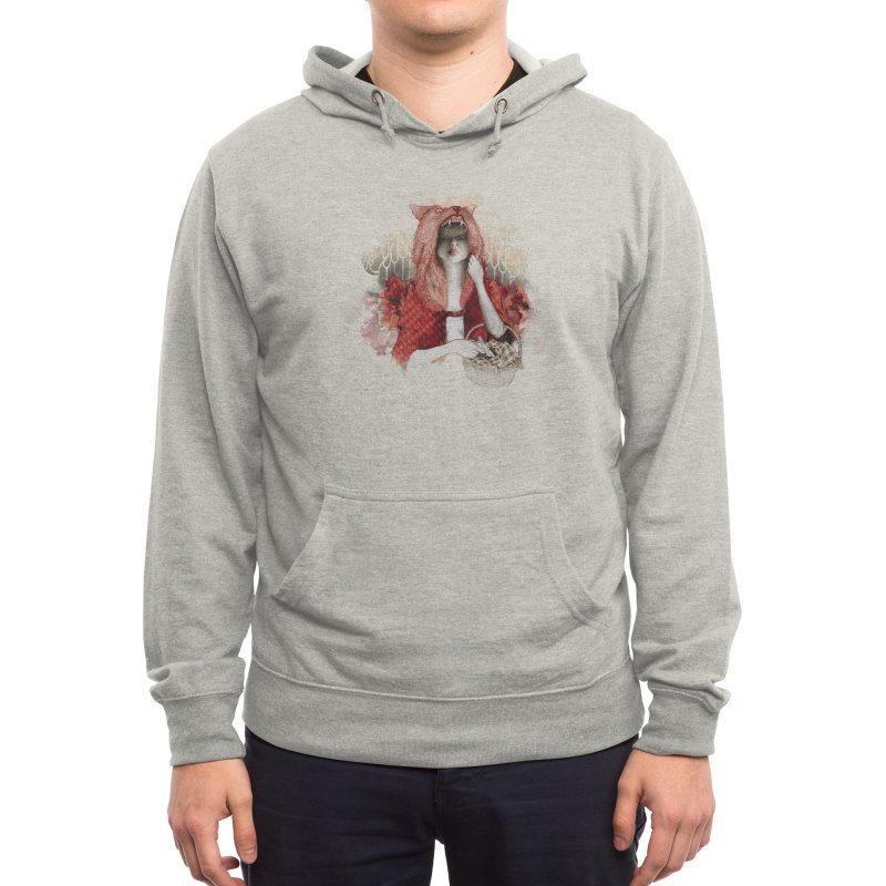 RED Men's Pullover Hoody by Threadless Artist Shop