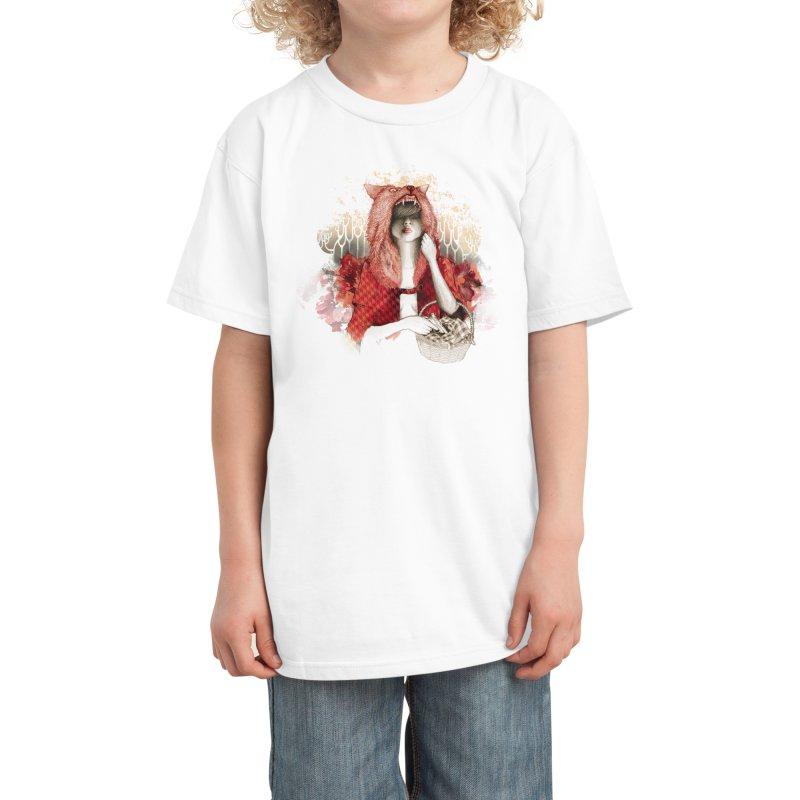 RED Kids T-Shirt by Threadless Artist Shop