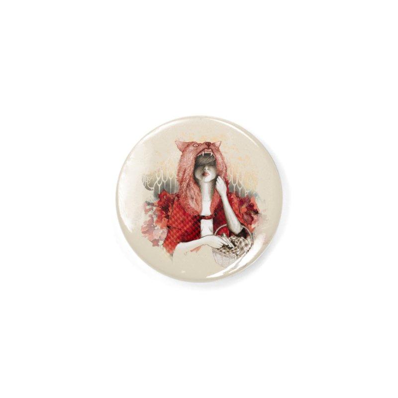 RED Accessories Button by Threadless Artist Shop