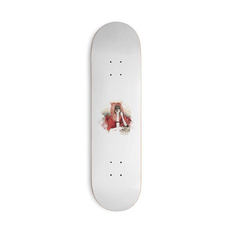 RED Accessories Skateboard by Threadless Artist Shop