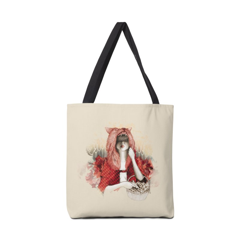 RED Accessories Bag by Threadless Artist Shop