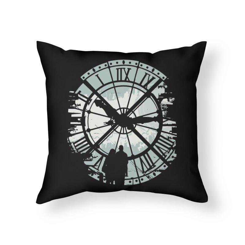Time Fades Home Throw Pillow by Threadless Artist Shop