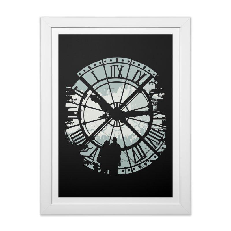 Time Fades Home Framed Fine Art Print by Threadless Artist Shop