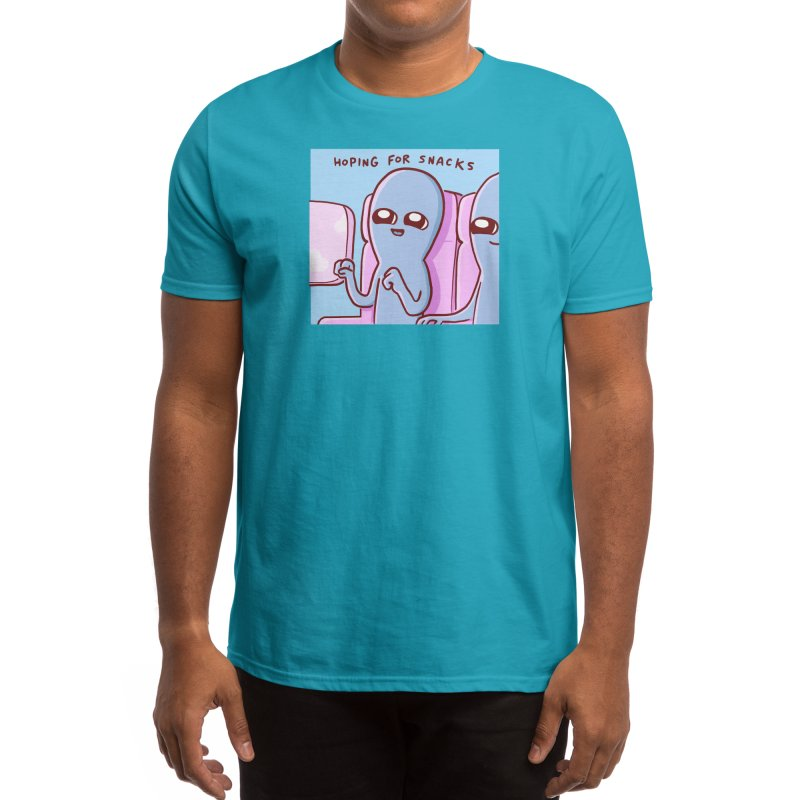 STRANGE PLANET SPECIAL PRODUCT: HOPING FOR SNACKS Men's T-Shirt by Threadless Artist Shop