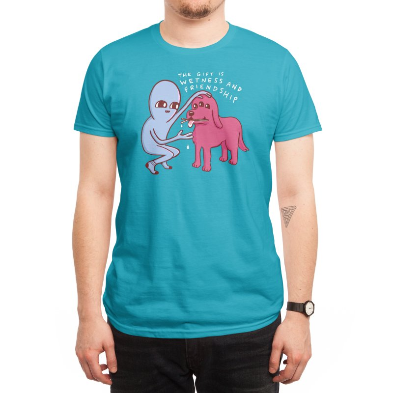STRANGE PLANET SPECIAL PRODUCT: WETNESS AND FRIENDSHIP Men's T-Shirt by Threadless Artist Shop