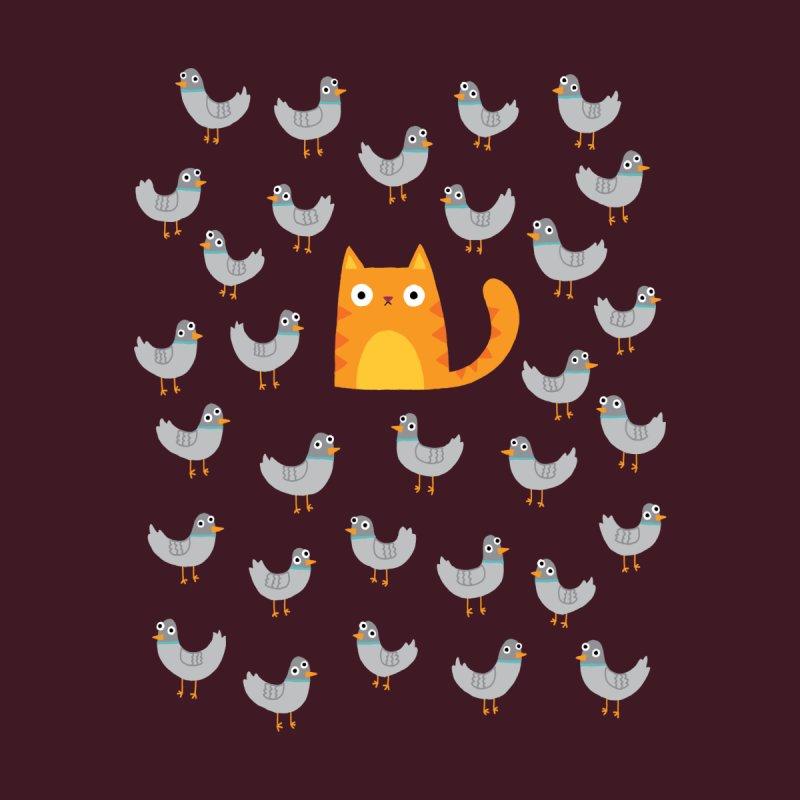 Cat Among The Pigeons Men's T-Shirt by Threadless Artist Shop