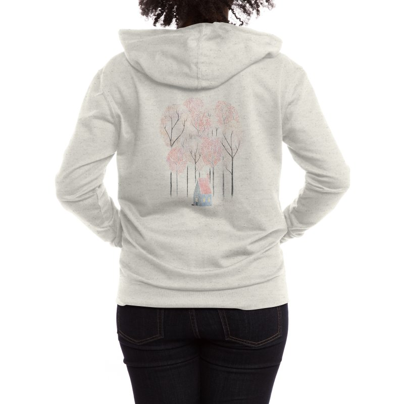 Our Cabin Women's Zip-Up Hoody by Threadless Artist Shop