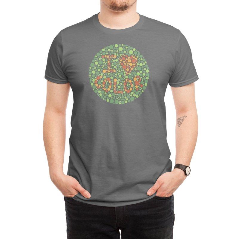 I Heart Color Men's T-Shirt by Threadless Artist Shop