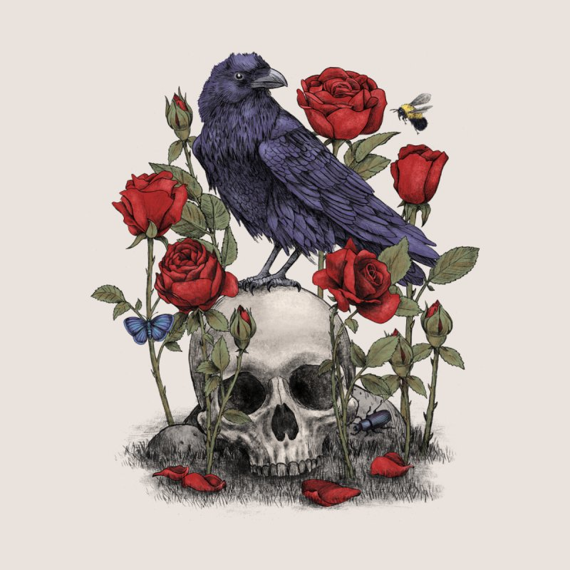 Memento Mori Men's T-Shirt by Threadless Artist Shop