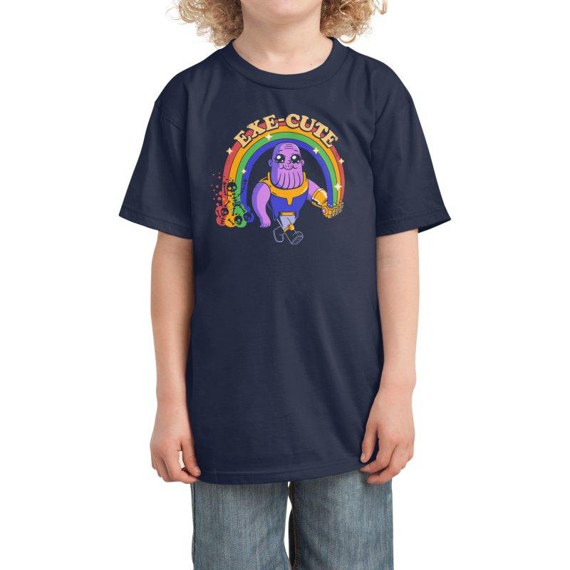 EXE-CUTE Kids T-Shirt by Threadless Artist Shop