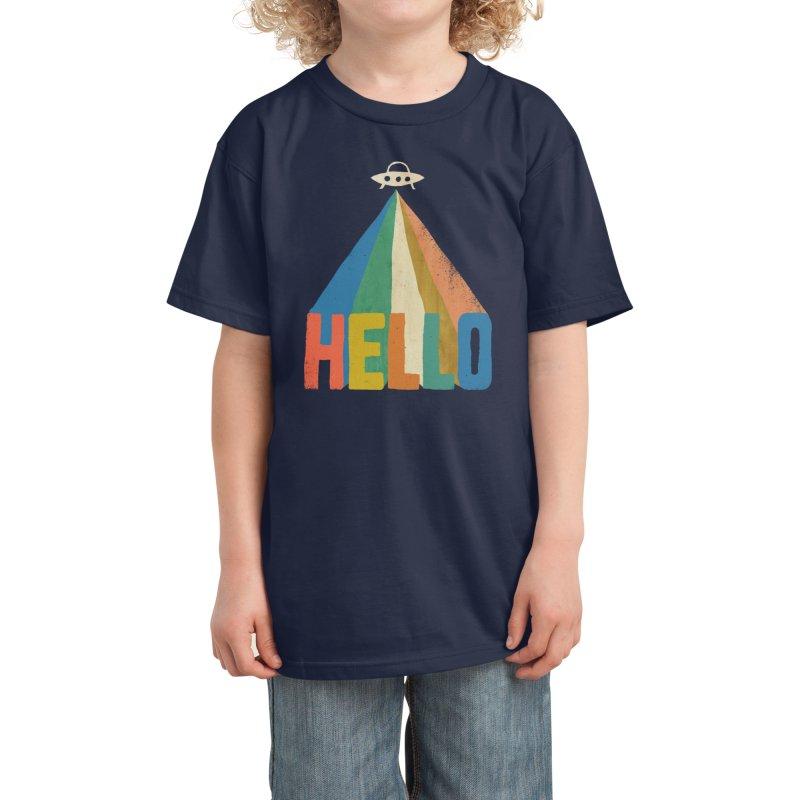 HELLO Kids T-Shirt by Threadless Artist Shop