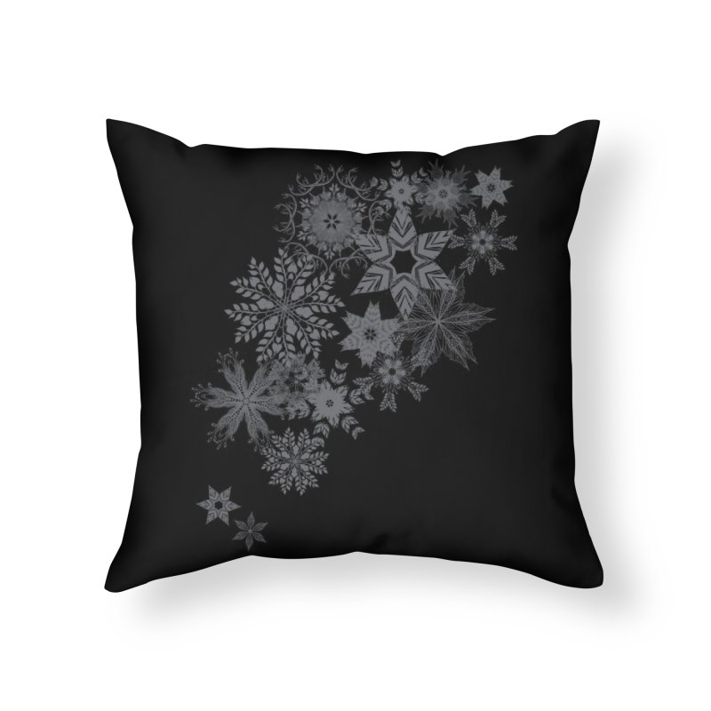 The Forest Drift Home Throw Pillow by Threadless Artist Shop