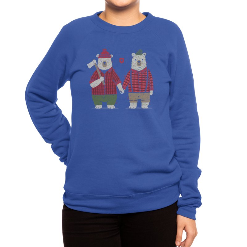 My Bear Valentine Women's Sweatshirt by Threadless Artist Shop