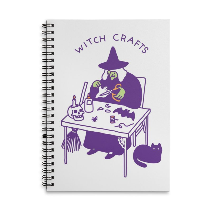 Witch Crafts Accessories Notebook by Threadless Artist Shop