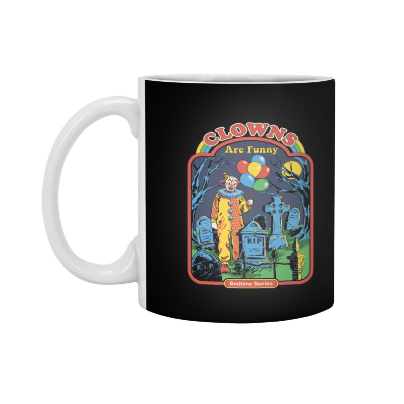 Clowns Are Funny Accessories Mug by Threadless Artist Shop