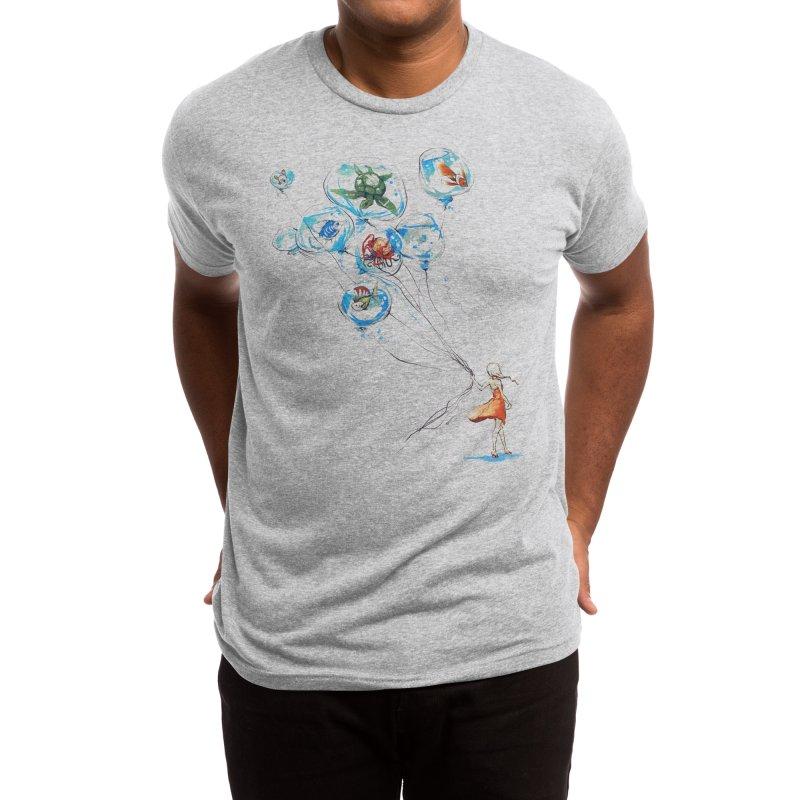 Water Balloons Men's T-Shirt by Threadless Artist Shop