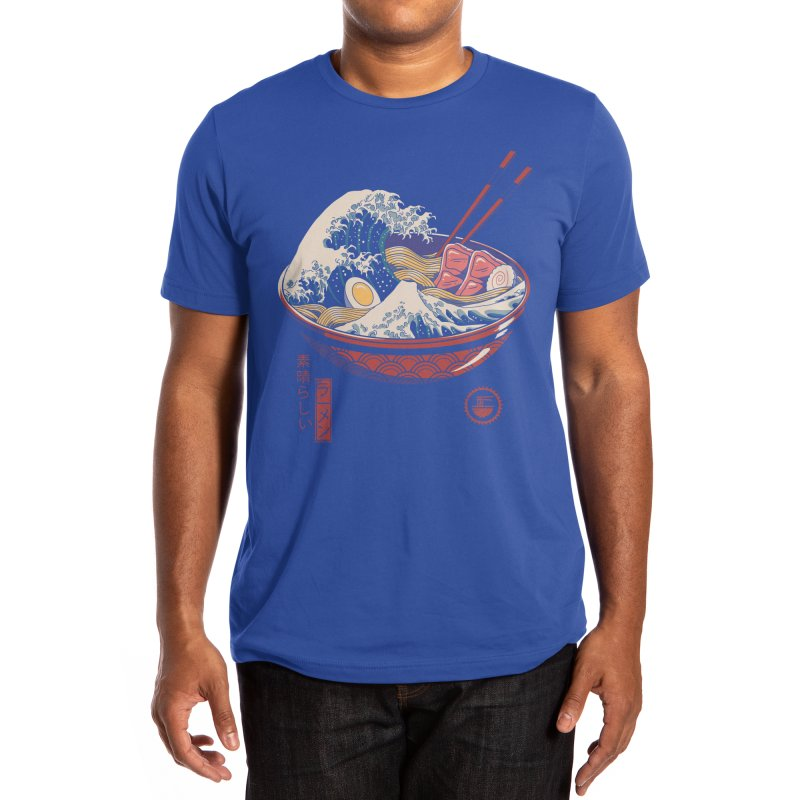 Great Ramen Wave Men's T-Shirt by Threadless Artist Shop