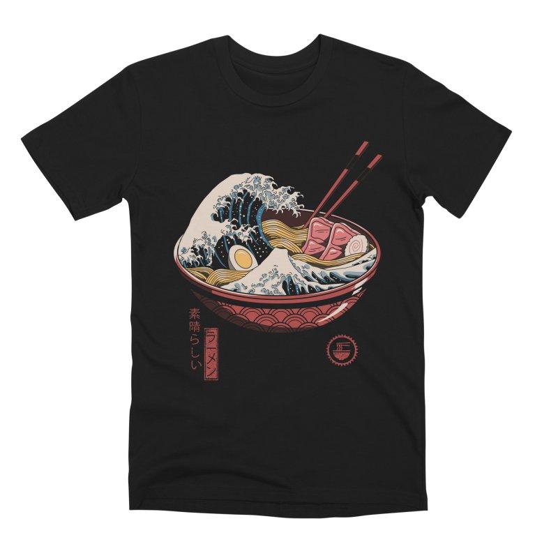 Great Ramen Wave Men's T-Shirt by Threadless Artist Shop